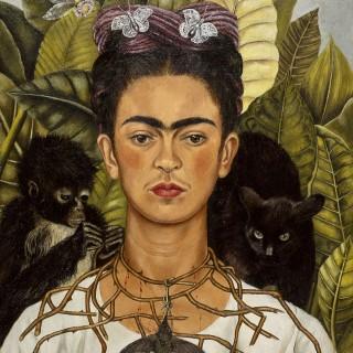 En av utställningarna handlar om Frida Kahlo