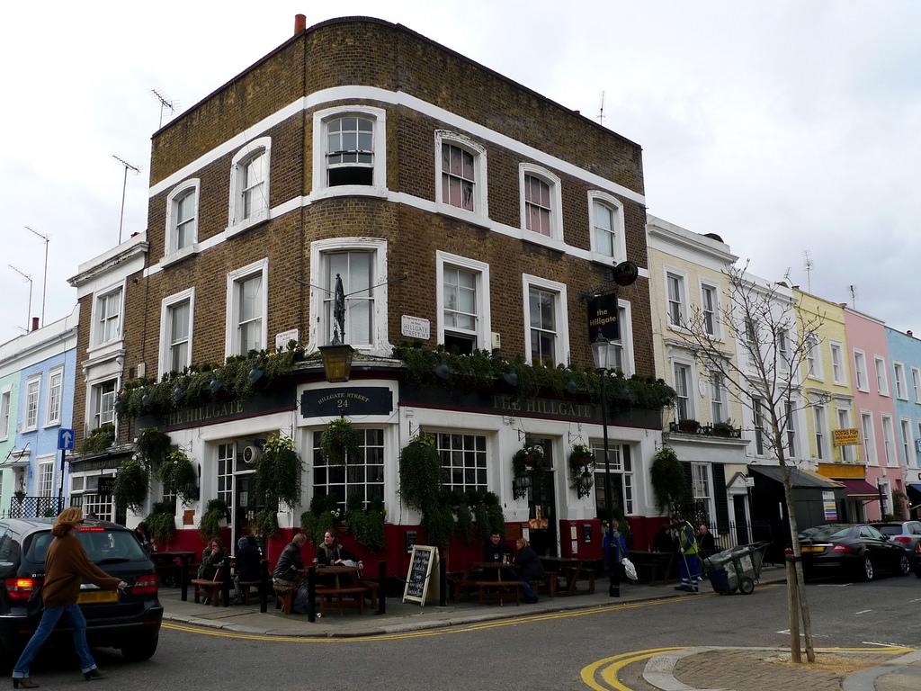Besök lyxiga Notting Hill