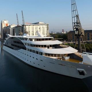 Hotell Sunborn lyxyacht vid Themsen i London