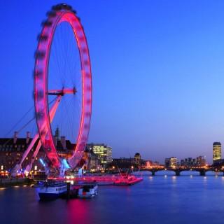 London Eye blir rosa!
