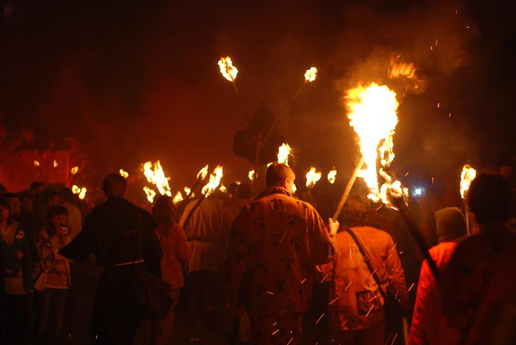 Bonfire Night i London 5 november