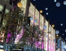 Besök Oxford Street och se de vackra ljusen!