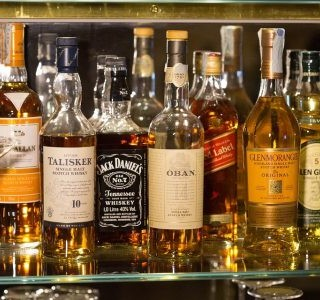 Testa whisky i London