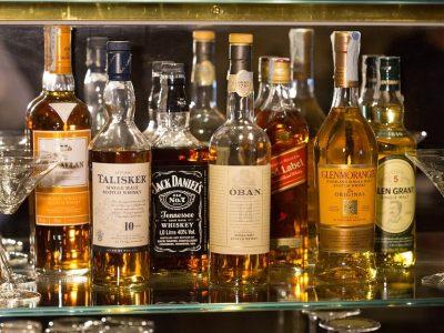 De bästa whiskybarerna i London