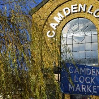 Camden Lock Market är en av de mest välbesökta marknaderna i London