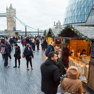 Besök en av Londons alla julmarknader!