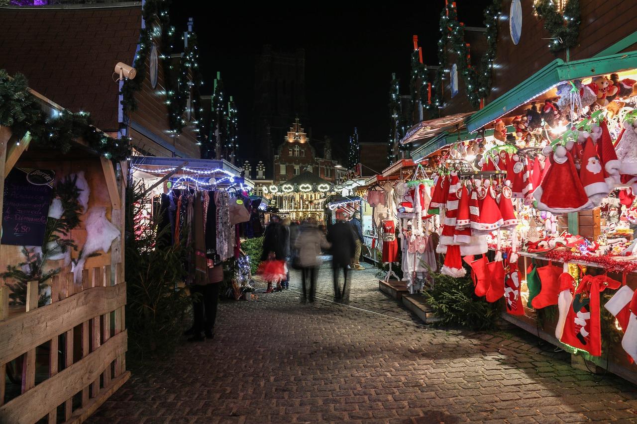 Få julstämning i London