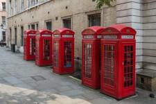 Telefonkiosker i Covent Garden