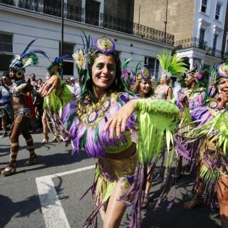 Notting Hill Carnival tar över västra London under två dagar i slutet av augusti