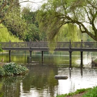 Leta efter den hemliga trädgården i Regents park
