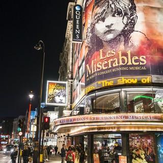 Le Miserable är en av alla musikaler du kan se i West End