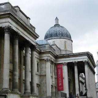 National Gallery som ligger vid Trafalgar Square är mycket populärt.