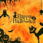 Fira halloween i London