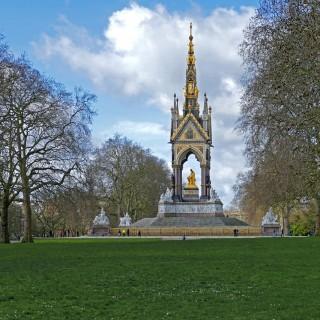 Hyde Park är en av alla vackra parker i London