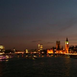 Besök London i oktober