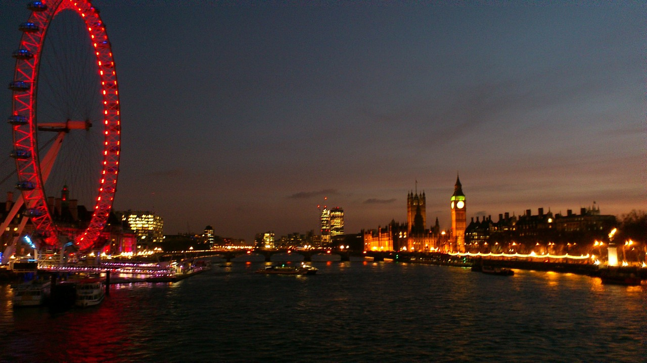 London i oktober 2019