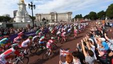 Njut av Londons bilfria gator på cykel