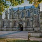 Missa inte berömda Rosslyn Chapel, Skottland