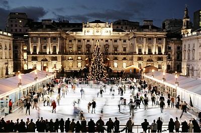 Gör vintriga saker i London
