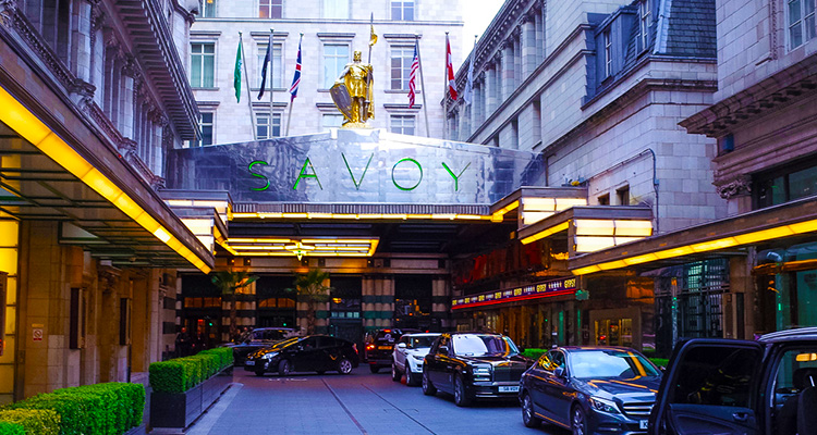 The Savoy hotell i London